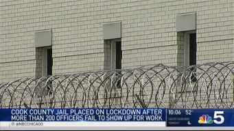 Mother's Day Call-Offs Force Lockdown at Cook County Jail