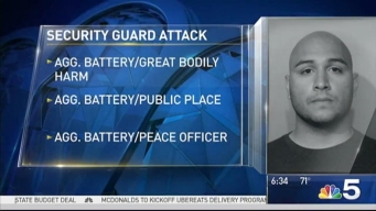 Man Charged With Punching River North Security Guard