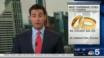 Chicago Ranks as One of Most Expensive Cities to Get Married