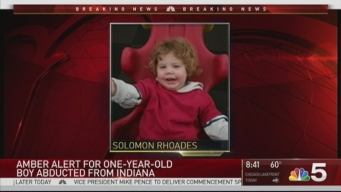 Amber Alert Issued for Indiana 1-Year-Old