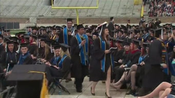 Graduates Walk Out on Pence at Notre Dame