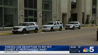 Alleged Theft Investigated at Merchandise Mart