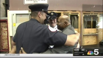 Chicago EMS Workers Receive Awards Wednesday