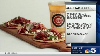 Celebrity Chefs Bring Culinary Talents to Wrigley Field