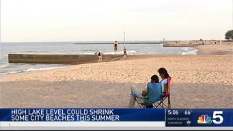 Chicago Beaches Getting Smaller