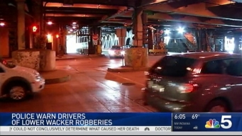 Robbers Targeting Drivers on Lower Wacker