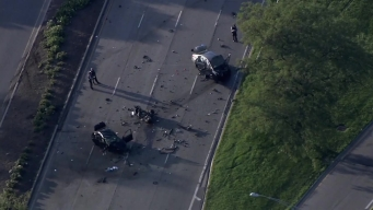 Lake Shore Drive Lanes Blocked After Crash Injures 9