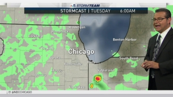 Forecast: Scattered Showers & Storms
