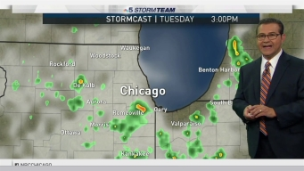 Forecast: Scattered Showers & Storms At Times