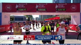 2017 Bank of America Chicago Marathon Finish: 4:22:07