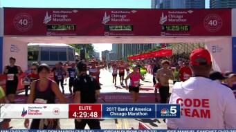 2017 Bank of America Chicago Marathon Finish: 4:27:02