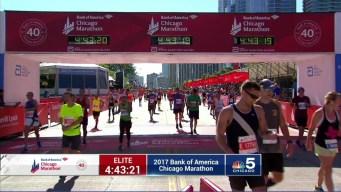 2017 Bank of America Chicago Marathon Finish: 4:41:22