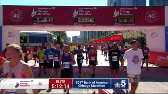 2017 Bank of America Chicago Marathon Finish: 5:09:50