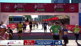 2017 Bank of America Chicago Marathon Finish: 5:38:21