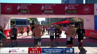 2017 Bank of America Chicago Marathon Finish: 5:48:07