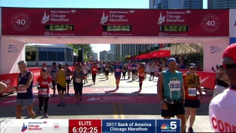 2017 Bank of America Chicago Marathon Finish: 5:59:59