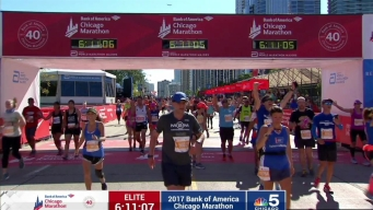 2017 Bank of America Chicago Marathon Finish: 6:08:03