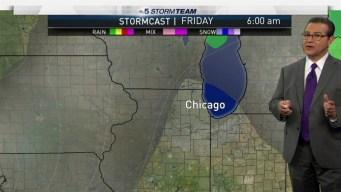 Forecast: Damp & Cool