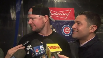 Lester on If He Will Pitch in Game 1: 'I'll Be in LA'