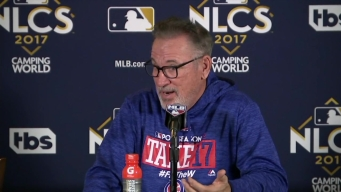 Maddon on Lackey: 'I Think That Might Be It'