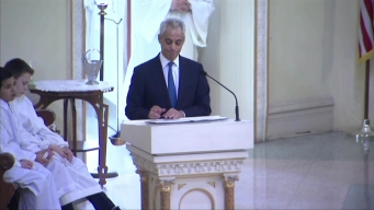 'Paul Answered the Call': Emanuel Speaks at Cmdr. Bauer's Funeral