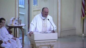 'Remember Paul Bauer': Fr. Brandt Speaks at Cmdr. Bauer's Funeral
