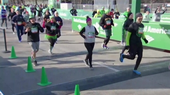 Watch: 2018 Bank of America Shamrock Shuffle Finish Line