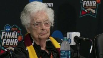 Sister Jean Speaks as Loyola Prepares for Final Four 3