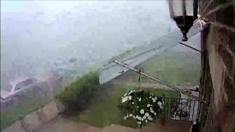 Video Shows Storm Tear Roof Off Chicago House
