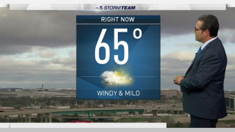 Forecast: Windy and Mild Start