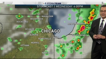 Forecast: Periods of Showers and Storms