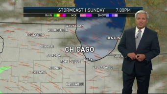 Sunday Forecast: Showers Possible