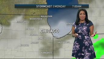 Scattered Showers Loom as Work Week Starts