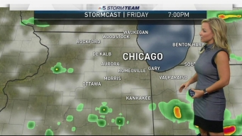 Chicago Weather Forecast: Showers and Storms Continue