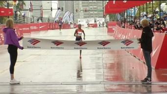 Brigid Kosgei Says Rain Helped Her to Chicago Marathon Win