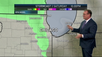 Rain Looms in Chicago-Area
