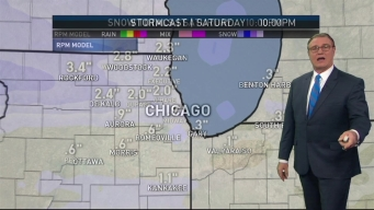 Another Round of Snow Set for Saturday Morning