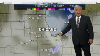 Skies Will Clear After Snow Hits Area