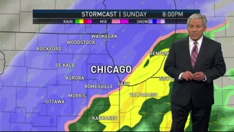 Heavy Snow on Deck for Sunday Travel