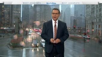 Chicago Weather Forecast: Rainy Morning