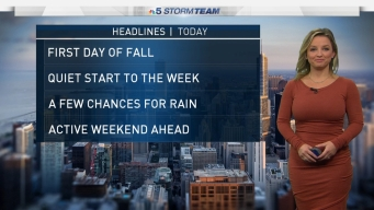 Chicago Weather Forecast: First Day of Fall