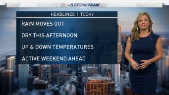 Chicago Weather Forecast: Morning Storms Dry in Afternoon