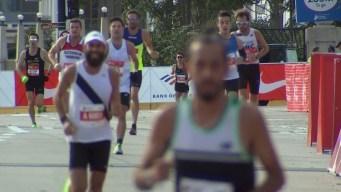 2019 Bank of America Chicago Marathon Finish Line Cam 1