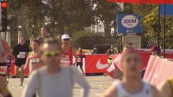 2019 Bank of America Chicago Marathon Finish Line Cam 2