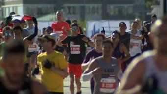2019 Bank of America Chicago Marathon Finish Line Cam 5