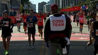 2019 Bank of America Chicago Marathon Finish Line Cam 6