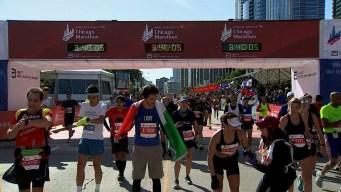 2019 Bank of America Chicago Marathon Finish Line Cam 8