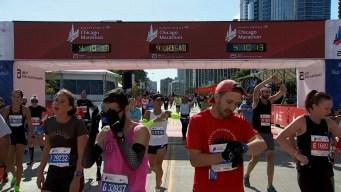 2019 Bank of America Chicago Marathon Finish Line Cam 11