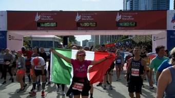 2019 Bank of America Chicago Marathon Finish Line Cam 13
