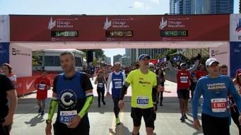 2019 Bank of America Chicago Marathon Finish Line Cam 14